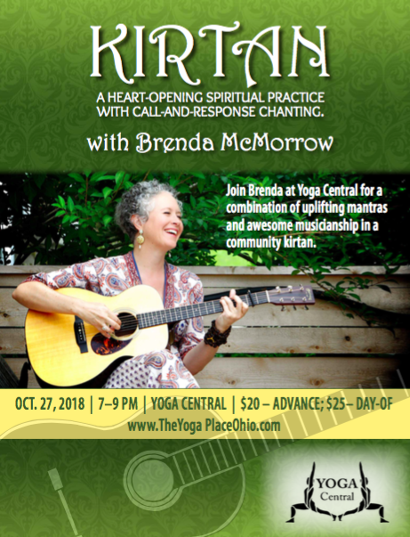 Brenda McMorrow is coming to Canton, Ohio