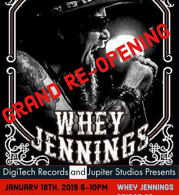 Jupiter Studios Grand Re-opening Party welcoming Digitech Records to Alliance!