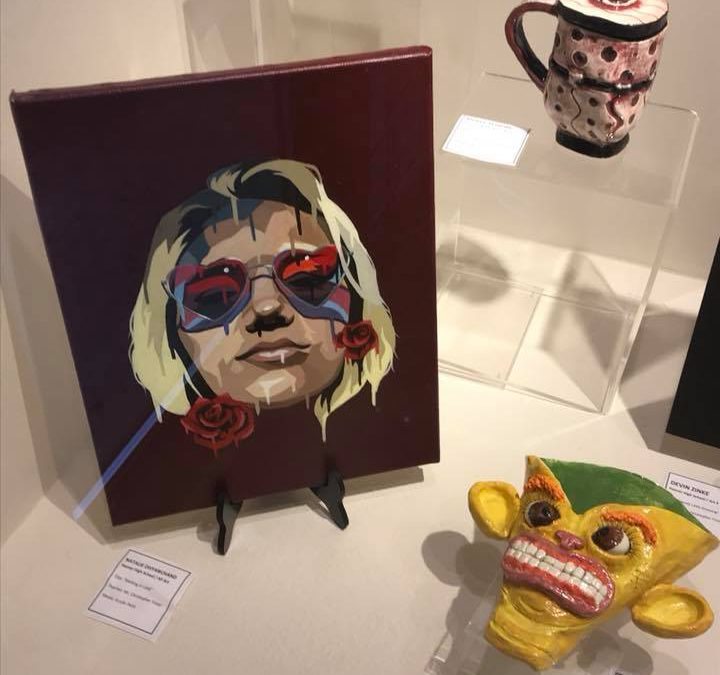 Art from the Classroom Returns to the Little Art Gallery of the North Canton Public Library
