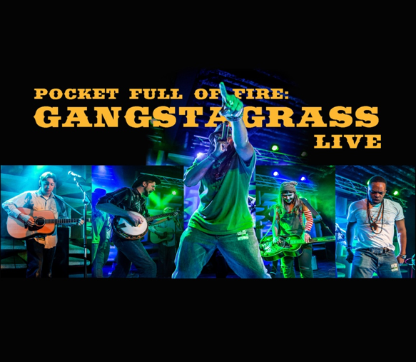 "Gangstagrass Illuminates the Skies With Live Album, ""Pocket Full of Fire"" Out Now!"
