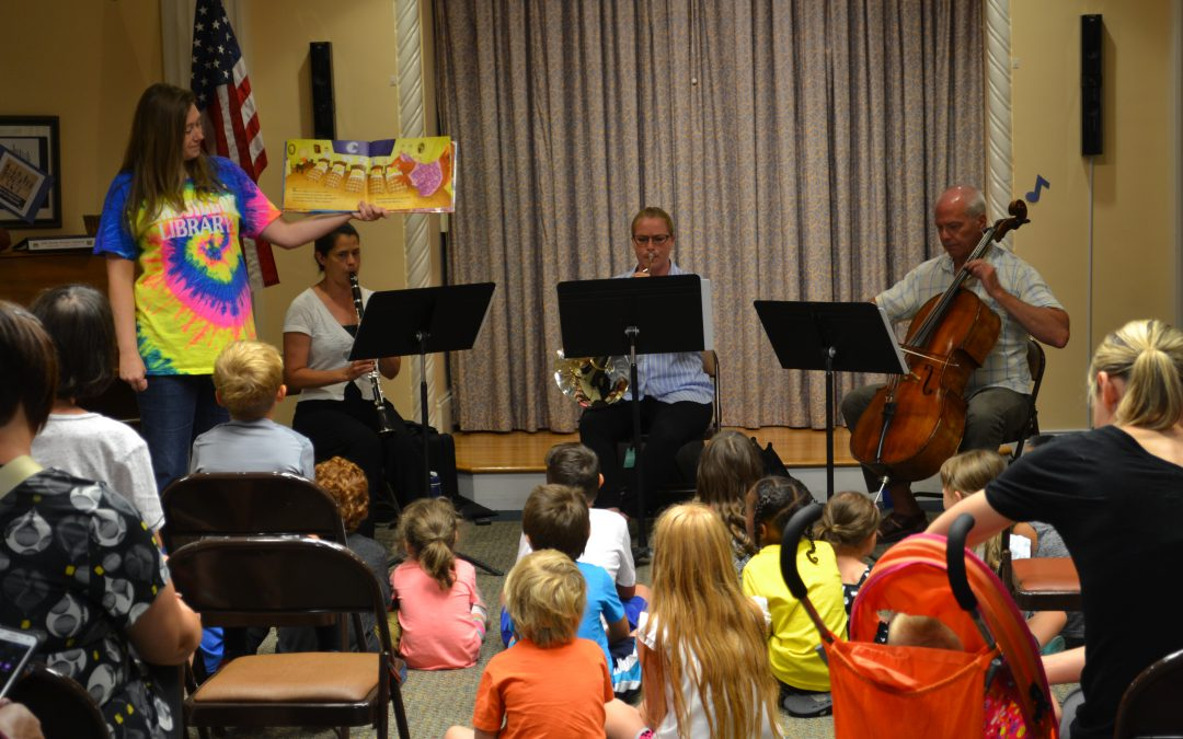 Stark Library and Canton Symphony present Listen at the Library