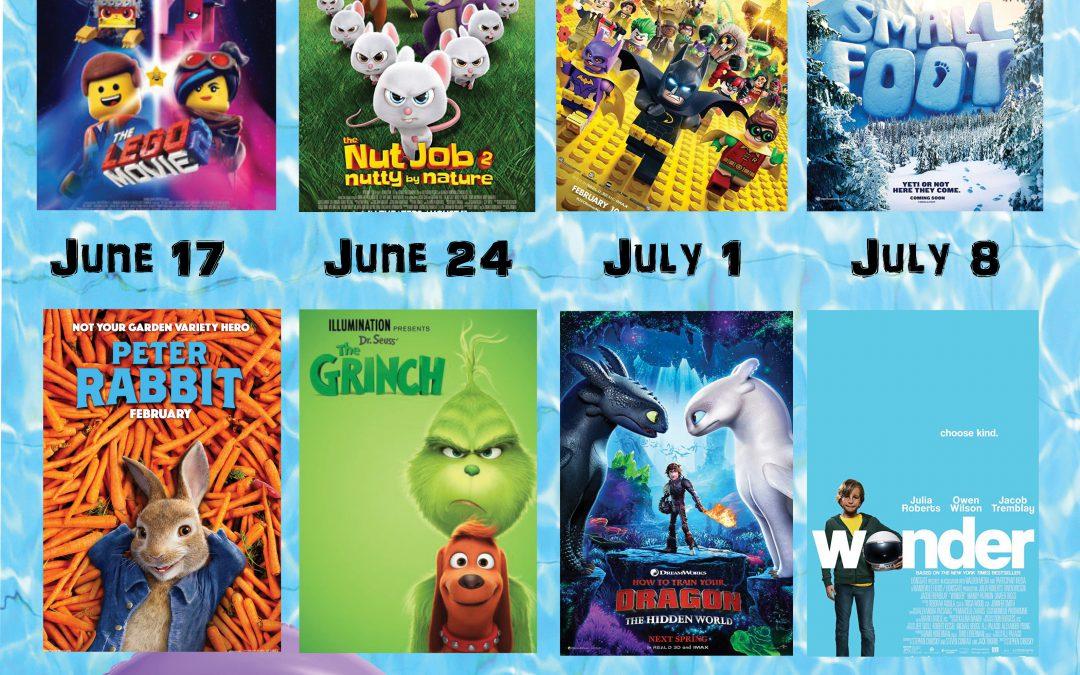 Canton Palace Theatre Announces 2019 Summer Kids Movie Series