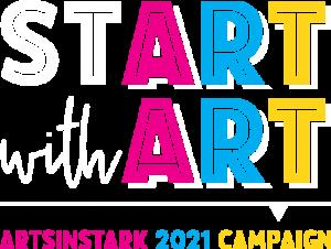 Start with Art Logo ArtsinStark Annual Campaign
