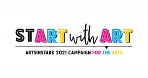 Start with Art Annual Campaign Logo 2021